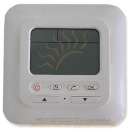 thermostat elektrische fu bodenheizung raumthermostat digital mit wochenprogramm ebay. Black Bedroom Furniture Sets. Home Design Ideas